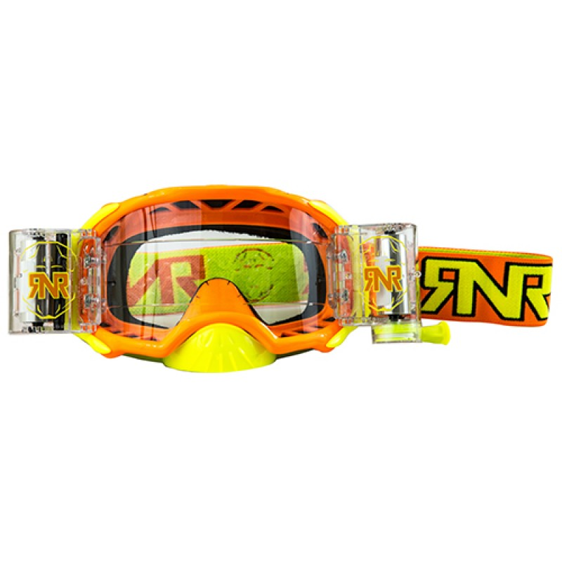 RNR Platinum (48mm Roll Off) Orange Fluo