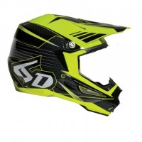 6D Helmet Blade Black/Neon Yellow