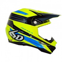 6D Helmet ATR-1 Pilot Neon Yellow/Blue/Black