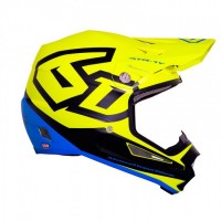 6D ATR-1Y Helmet Macro Neon Yellow - YOUTH
