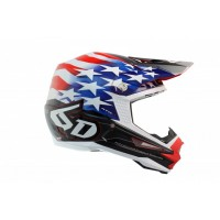 6D Helmet ATR-1 Patriot Red/White/Blue