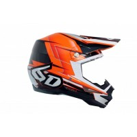 6D Helmet ATR-1 Sonic Orange/Charcoal
