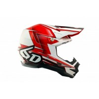6D Helmet ATR-1 Sonic Red/White