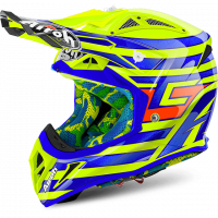 Airoh 2018 Helm 'AVIATOR 2.2' CAIROLI QATAR YELLOW GLOSS