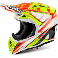 Airoh 2018 HELM 'AVIATOR 2.2' DOUBLE ORANGE GLOSS