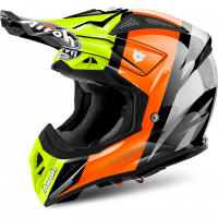 Airoh 2018 HELM 'AVIATOR 2.2' REVOLVE ORANGE GLOSS