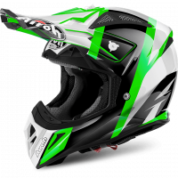 Airoh 2018 HELM'AVIATOR 2.2' REVOLVE GREEN GLOSS