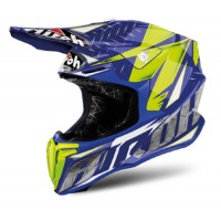 Airoh 2018 Helm 'TWIST' IRON BLUE GLOSS