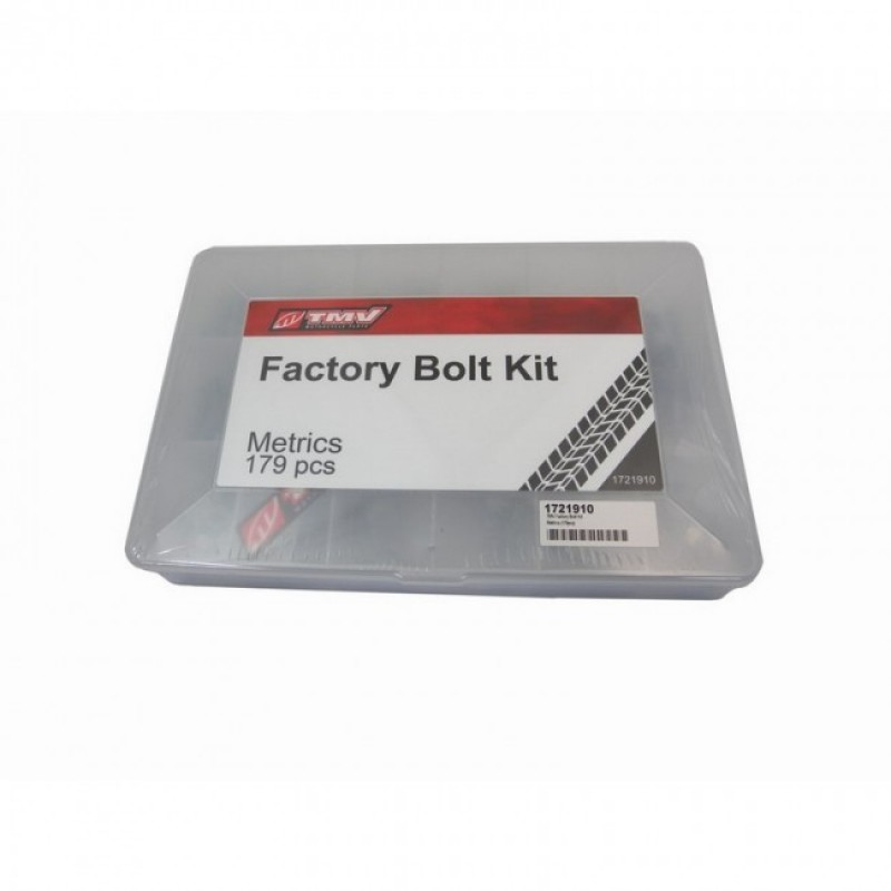 TMV Factory bouten kit Metrics ( 179 pcs)